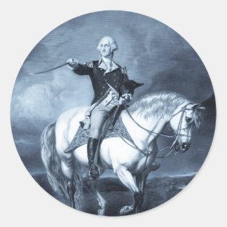 George Washington Salute stickers