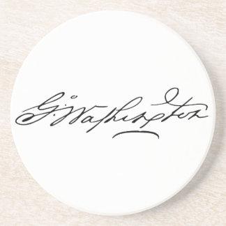 George Washington Signature Beverage Coasters