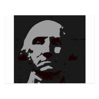 George Washington silhouette Postcard