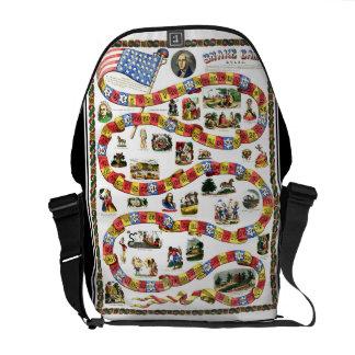 George Washington Snake Game Rickshaw Bag Courier Bags