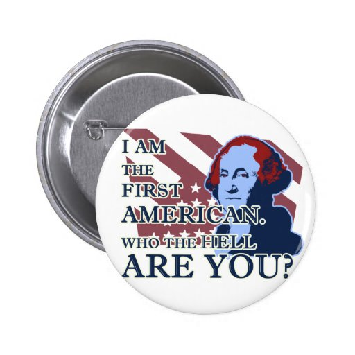 George Washington The First American Button