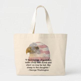 George Washington Tote Bags