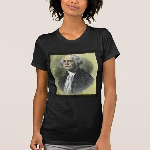 George Washington Vintage Magic Lantern Slide Tee Shirt
