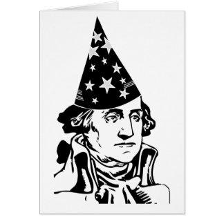 George Washington's Birthday Greeting Card