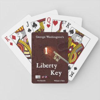 George Washington's Liberty Key Playing Cards