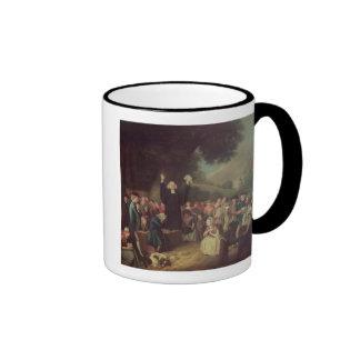 George Whitefield preaching Ringer Mug
