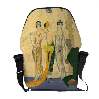 Georges Barbier 1882-1932 French Illustrator Courier Bags