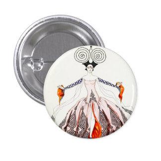 Georges Barbier Art Deco Fashion Button