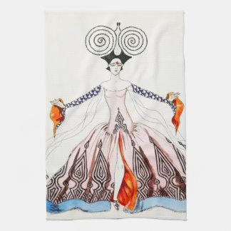 Georges Barbier Art Deco Fashion Kitchen Towel