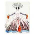 Georges Barbier Art Deco Fashion Postcard