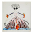 Georges Barbier Art Deco Fashion Poster
