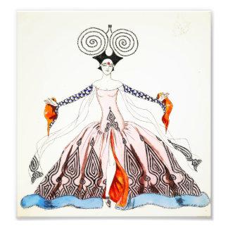 Georges Barbier Art Deco Fashion Print Photographic Print