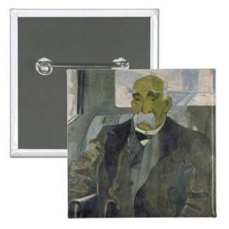 Georges Clemenceau  1928 15 Cm Square Badge