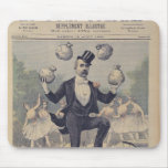 Georges Clemenceau  juggling bags of English Mouse Mat