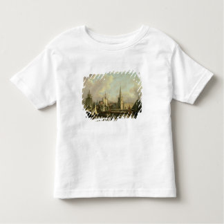 George's Dock Basin, Liverpool, 1797 (oil on canva Toddler T-Shirt