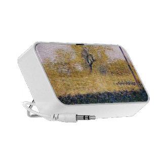 Georges Seurat- Edge of Wood, Springtime Mp3 Speakers