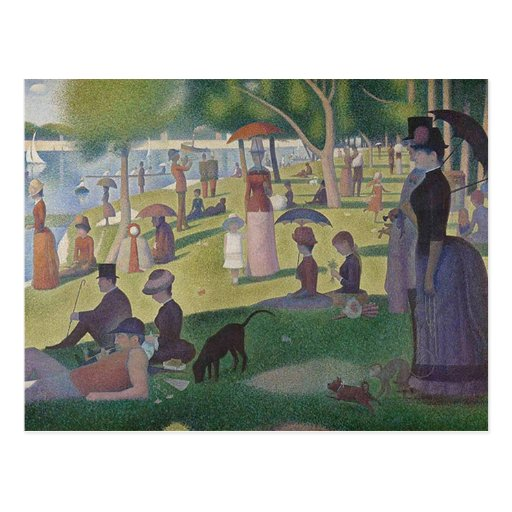 Georges Seurat Postcards