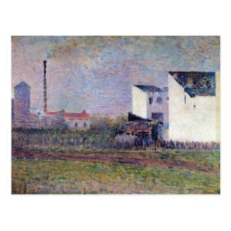 Georges Seurat- Suburb Postcard