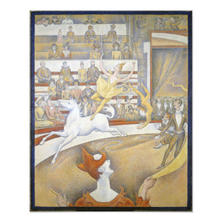 Georges Seurat - The Circus Photographic Print