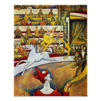 Georges Seurat - The Circus Poster