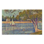 Georges Seurat - The Seine at CourbevoieGeorges Se Poster