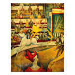 Georges Seurat's The Circus (1891) 21.5 Cm X 28 Cm Flyer