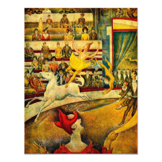 Georges Seurat's The Circus (1891) Card