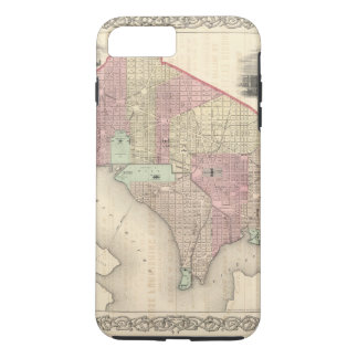 Georgetown and the City of Washington iPhone 8 Plus/7 Plus Case