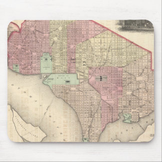 Georgetown and the City of Washington Mouse Mat