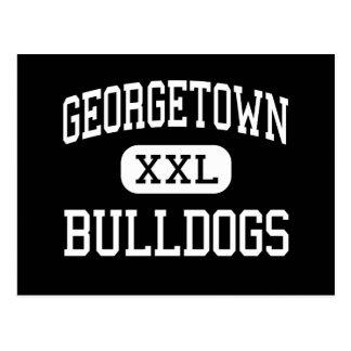 Georgetown - Bulldogs - High - Georgetown Post Card