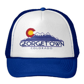 Georgetown Colorado wood mountains hat