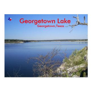 Georgetown Lake. Georgetown Texas Postcards