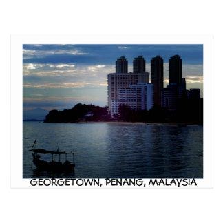 Georgetown, Penang postcard