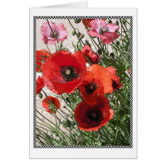 Georgetown Poppies II Card