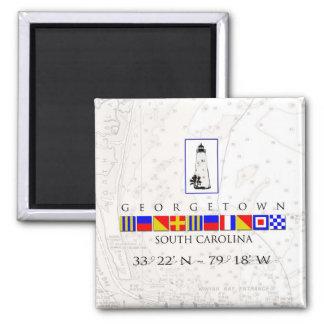 Georgetown SC Marine Signal Flag Magnet