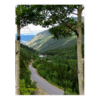 Georgetown seen from Guanella Pass Post Card