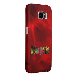 Georgette Red Style Samsung Galaxy Case