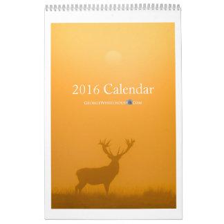 GeorgeWheelhouse.com 2016 Calendar
