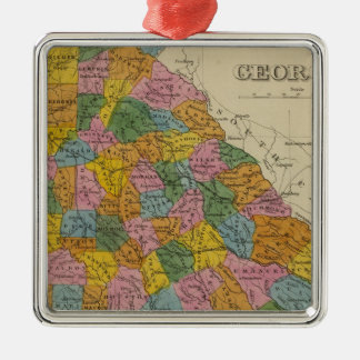 Georgia 4 christmas ornament