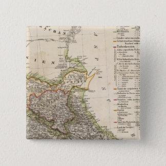 Georgia 7 15 cm square badge