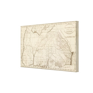 Georgia 7 canvas print