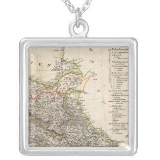 Georgia 7 silver plated necklace
