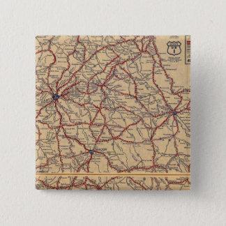 Georgia 8 15 cm square badge