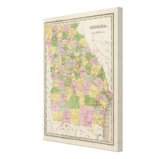 Georgia 8 canvas print