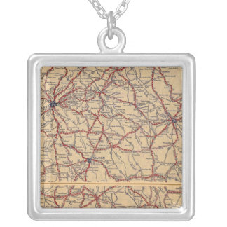 Georgia 8 silver plated necklace