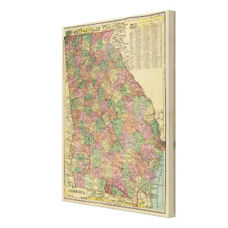 Georgia 9 canvas print