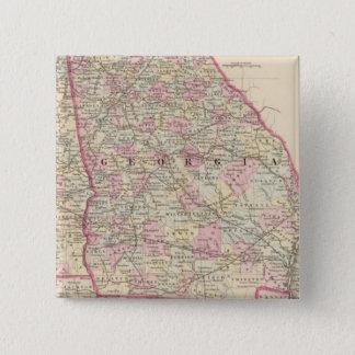 Georgia, Alabama 15 Cm Square Badge