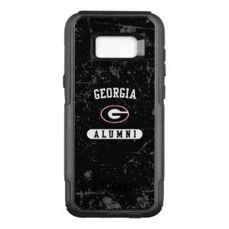 Georgia Alumni | Grunge OtterBox Commuter Samsung Galaxy S8+ Case