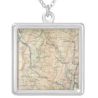 Georgia, Atlanta Campaign 1st epoch Silver Plated Necklace