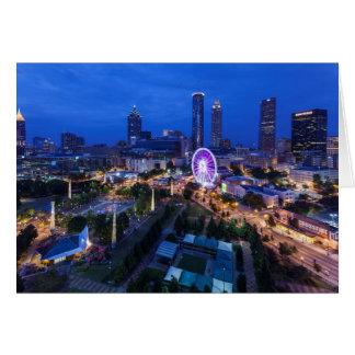 Georgia, Atlanta, Centennial Olympic Park Card